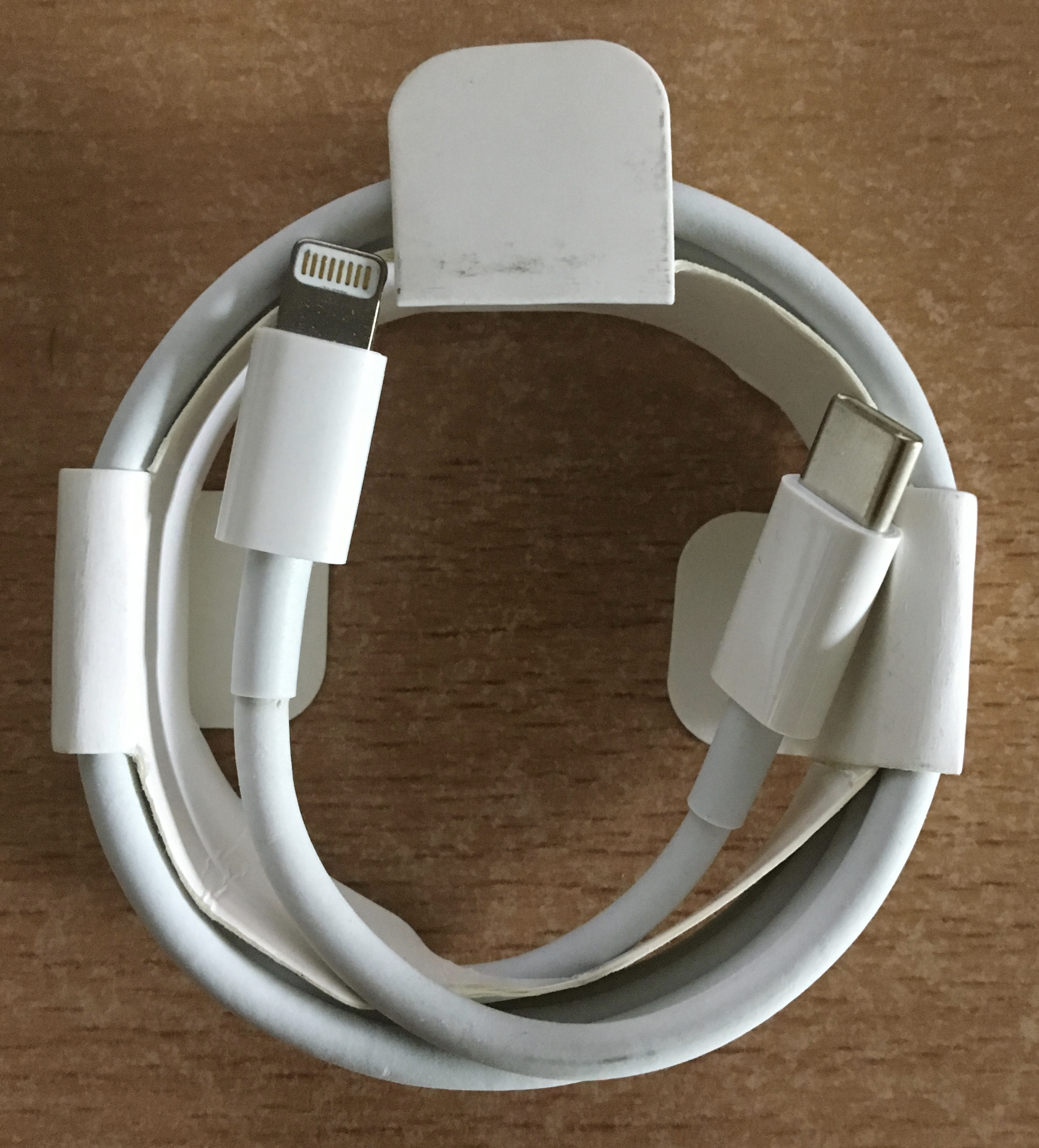 USB-C to Lightning cable, 1m